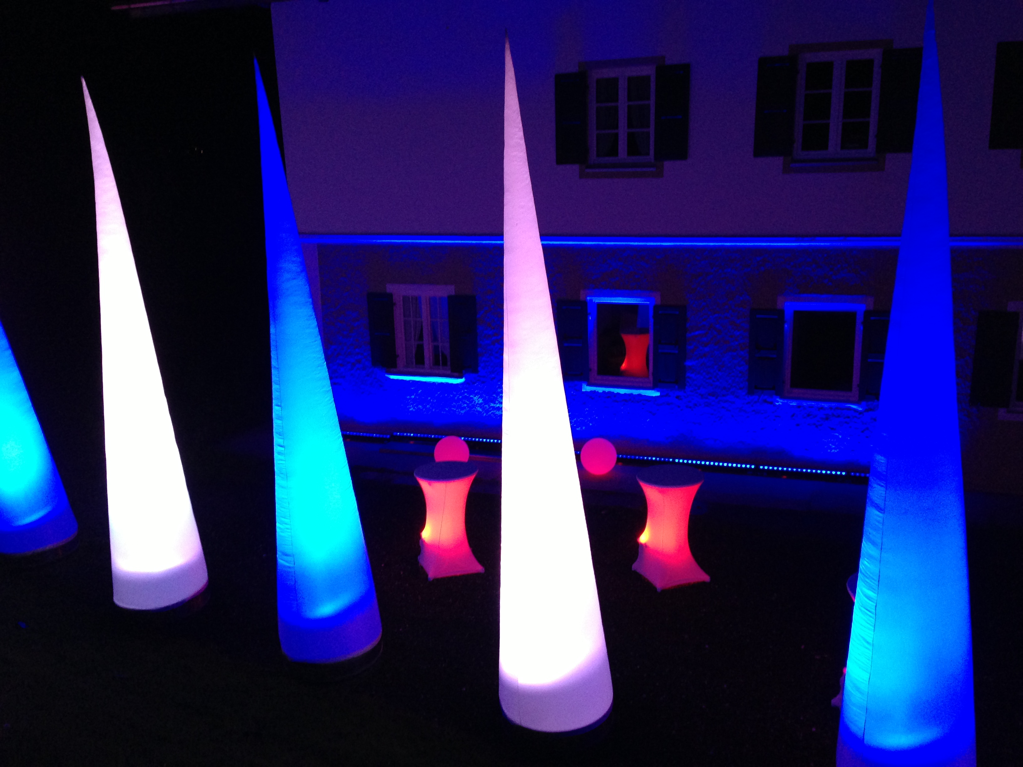Licht Dekoration Kegel Ambiente Licht